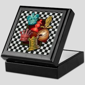 Chess Boxes Keepsake Box