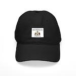 Bridesmaid DIVA Black Cap