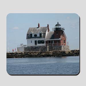 Rockland Light Lighthouse Mousepad