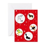 Hoppy Holidays Greeting Cards (Pk of 10)