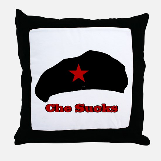 Che Sucks Throw Pillow