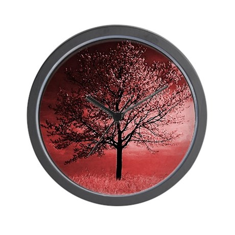 Cherry Blossom Tree in Pinks Wall Clock