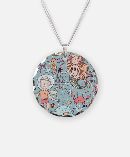 Whimsical Sea Life Necklace
