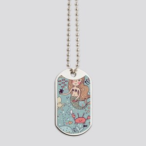 Whimsical Sea Life Dog Tags
