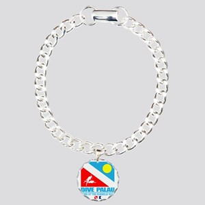 Dive Palau Charm Bracelet, One Charm