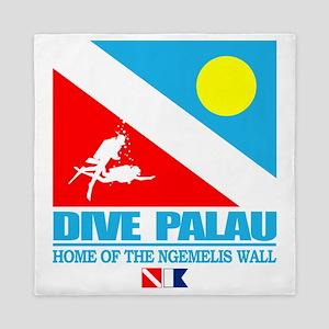 Dive Palau Queen Duvet