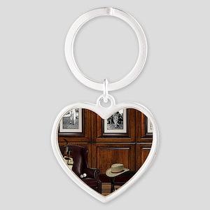 Country Club Heart Keychain