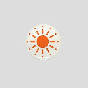 Sun / Soleil / Sol / Sonne / Sole / Zo Mini Button