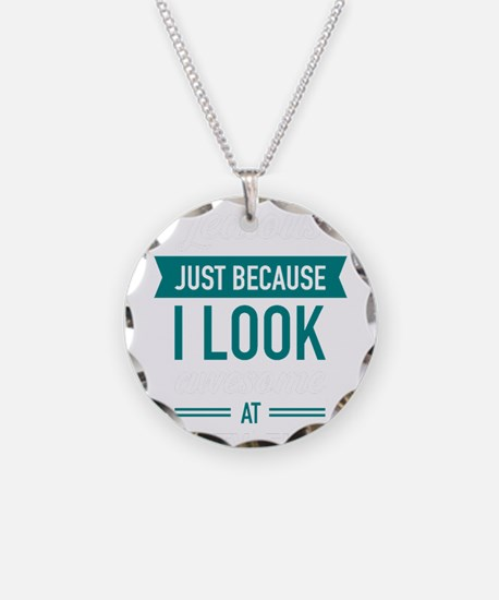Awesome At Fifty-Five Necklace Circle Charm