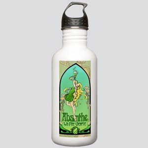 Absinthe Art Nouveau Stainless Water Bottle 1.0L