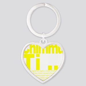 Chimmu Ti Heart Keychain