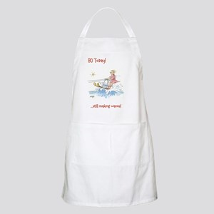 80 today - making waves Apron