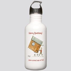 Happy Birthday - shed  Stainless Water Bottle 1.0L