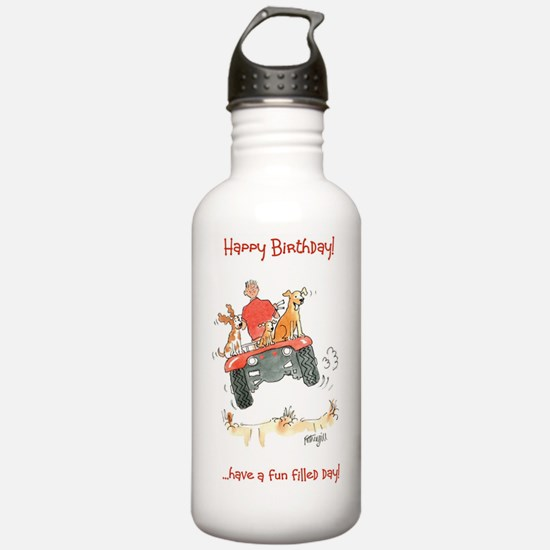Happy Birthday  - fun  Water Bottle