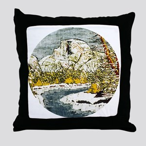 Half Dome Lover Throw Pillow