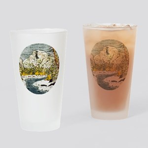Half Dome Lover Drinking Glass