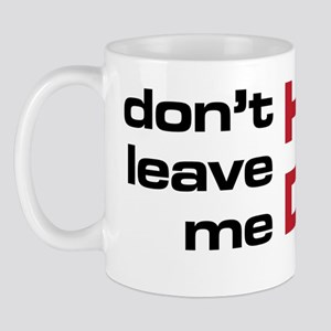 The Bends High and Dry black and red si Mug