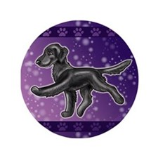 Flat Coated Retriever Night Sky 3.5
