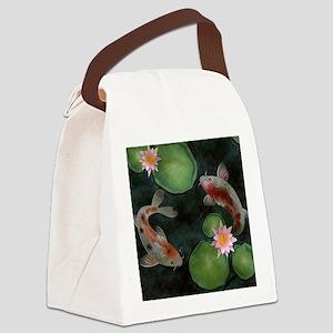 Koi Canvas Lunch Bag