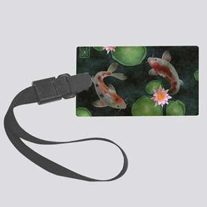 Koi Large Luggage Tag