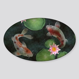 Koi Sticker (Oval)