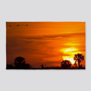 Sunset on Fire 3'x5' Area Rug