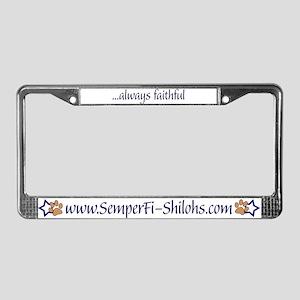 Semper Fi Shilohs License Plate Frame