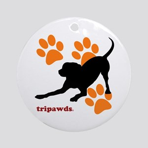 Tripawds Three Legged Dog Ornament (Round)