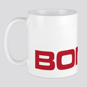 The Bends Bones white and red Mug