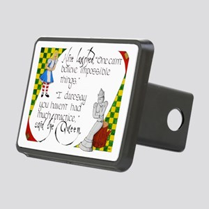 Alice and the White Queen Rectangular Hitch Cover