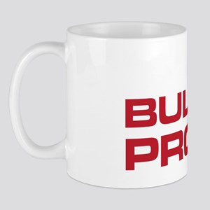 The Bends Bullet proof white and red Mug