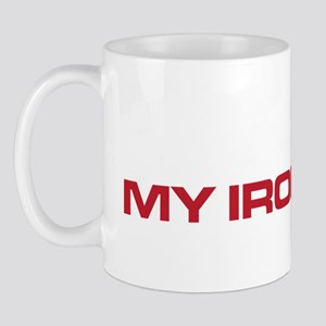 The Bends My Iron Lung white and red Mug