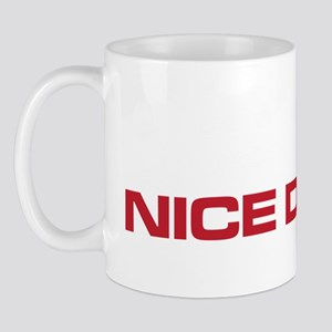 The Bends Nice Dream white and red Mug