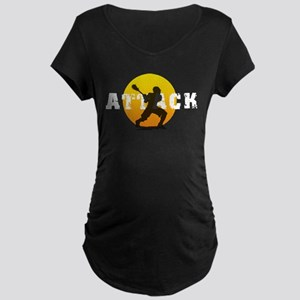 Lacrosse Attack Maternity Dark T-Shirt