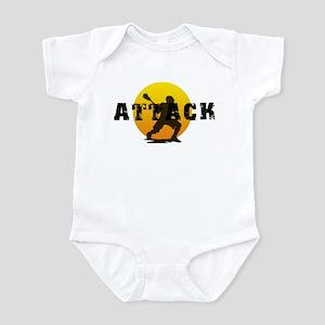 Lacrosse Attack Infant Bodysuit