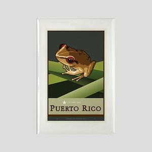 Puerto Rico II Rectangle Magnet