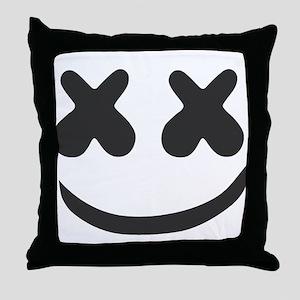 marshmello Throw Pillow