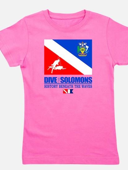 Dive the Solomons Girl's Tee