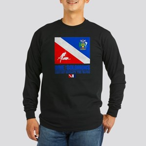 Dive the Solomons Long Sleeve Dark T-Shirt