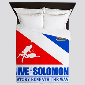 Dive the Solomons Queen Duvet