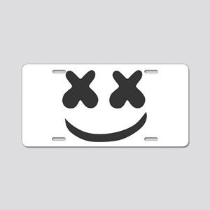 marshmello Aluminum License Plate