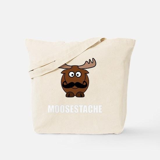Moosestache Tote Bag
