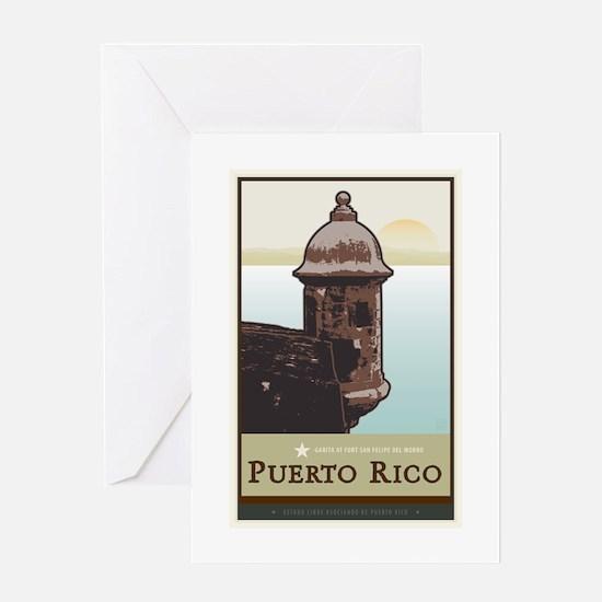 Puerto Rico I Greeting Card