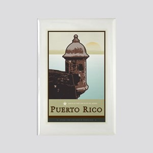 Puerto Rico I Rectangle Magnet