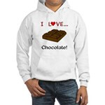 I Love Chocolate Hooded Sweatshirt