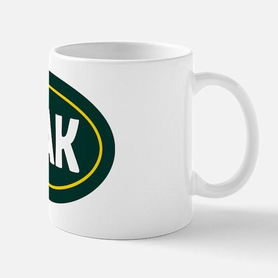 Oakland Oval Mug