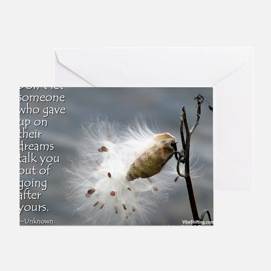 milkweed - Vibe Shifting Calendar Greeting Card