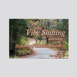 Vibe Shifting Calendar Rectangle Magnet