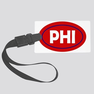 Philadelphia Oval Large Luggage Tag