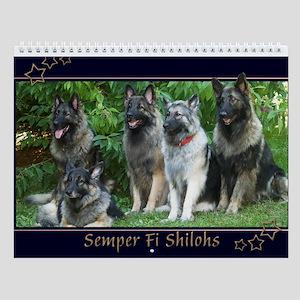 2014 Semper Fi Shilohs Wall Calendar